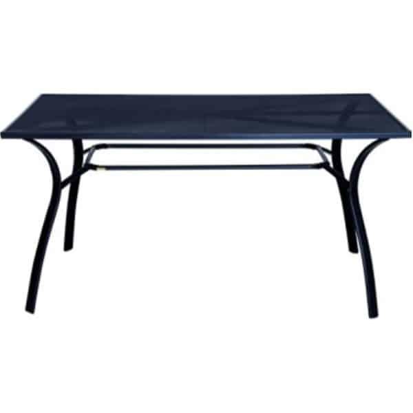 Τραπέζι κήπου διάτρητο ανθρακί
