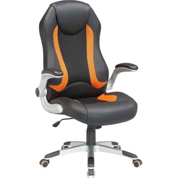 Καρέκλα γραφείου μαύρη-κίτρινη