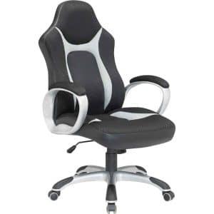Καρέκλα γραφείου γκρι-μαύρη