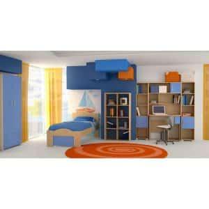 Παιδικό δωμάτιο Κύμα γαλάζιο