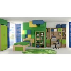 Παιδικό δωμάτιο Κύμα λαχανί