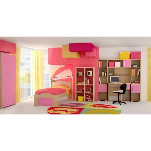 Παιδικό δωμάτιο Κύμα ροζ