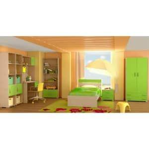 Παιδικό δωμάτιο Νότα λαχανί