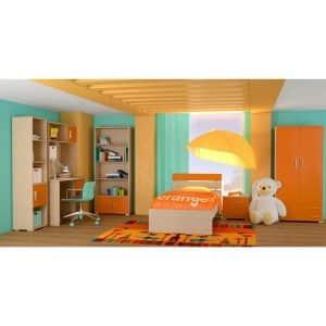 Παιδικό δωμάτιο Νότα πορτοκαλί