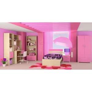 Παιδικό δωμάτιο Νότα ροζ