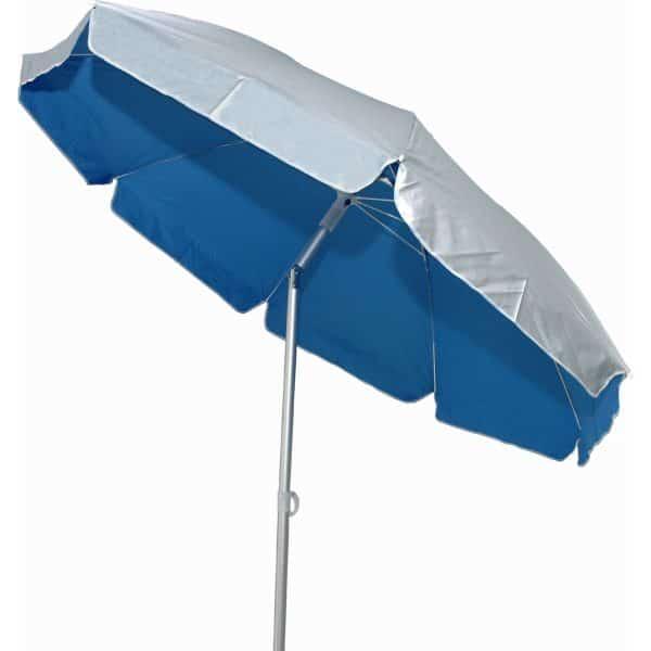 Ομπρέλα θαλάσσης αλουμινίου 2,2μ. μπλε
