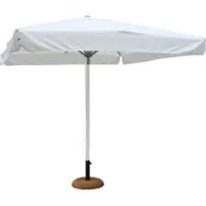 Ομπρέλα κήπου αλουμινίου 3x3 εκρού
