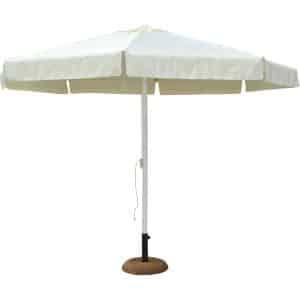 Ομπρέλα κήπου αλουμινίου 3μ. εκρού