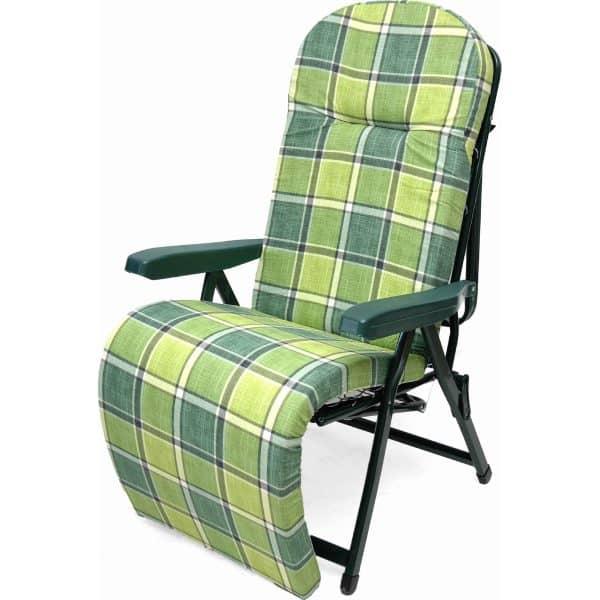 Πολυθρόνα-κρεβάτι πράσινη μεταλλική πολ/ων θέσεων