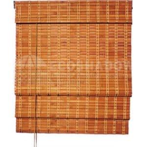 Στόρι bamboo καρυδί roman