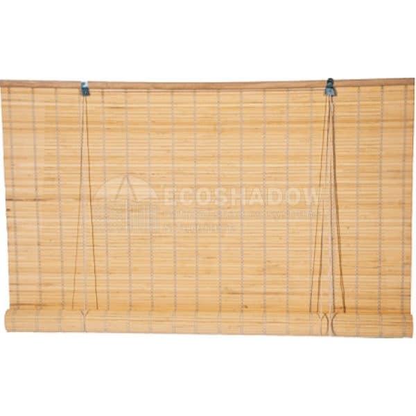 Στόρι bamboo φυσικό roll-up