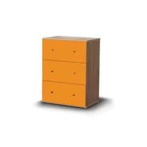 Συρταριέρα Ersi με 3 συρτάρια-pd