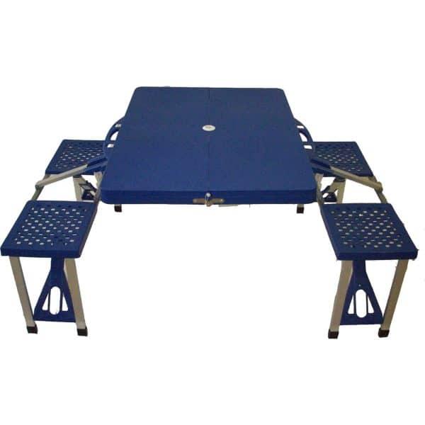 Τραπέζι πτυσσόμενο βαλιτσάκι πικνίκ 4 ατόμων