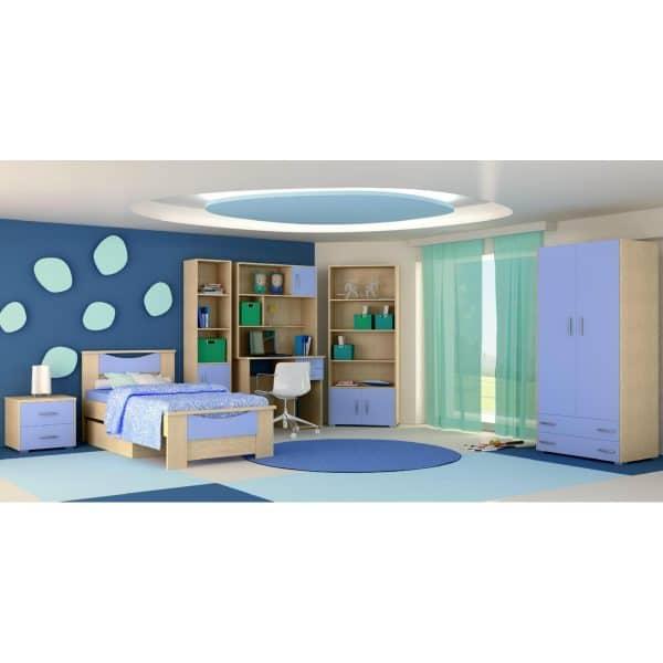 Παιδικό δωμάτιο Χαμόγελο γαλάζιο