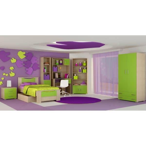 Παιδικό δωμάτιο Χαμόγελο λαχανί