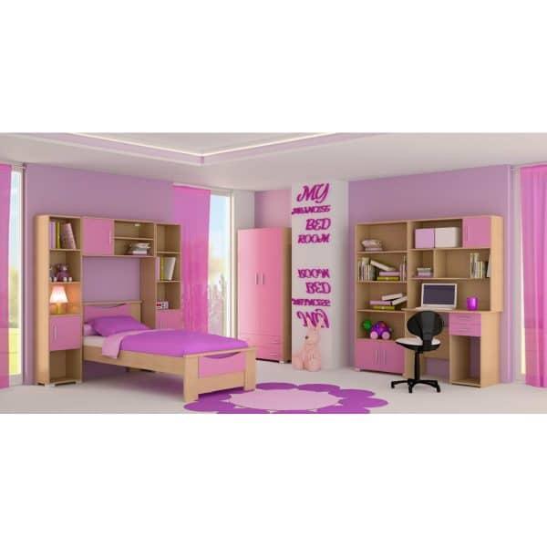 Παιδικό δωμάτιο Χαμόγελο ροζ
