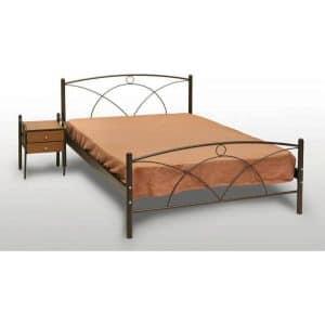 Μεταλλικό κρεβάτι διπλό Νάξος