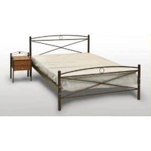 Μεταλλικό κρεβάτι διπλό Χίος
