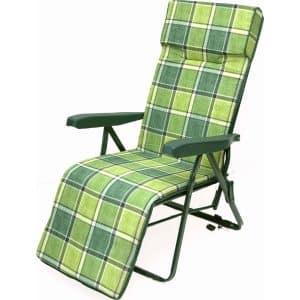 Πολυθρόνα-κρεβάτι πράσινη μεταλλική
