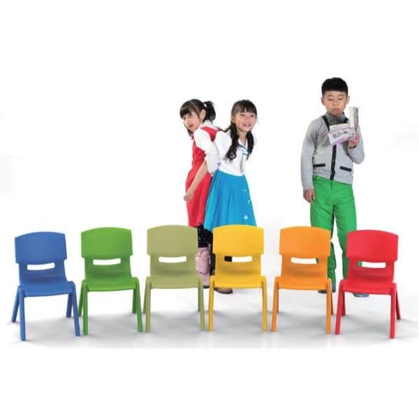 Καρεκλάκι παιδικό KIDS σε διάφορα χρώματα