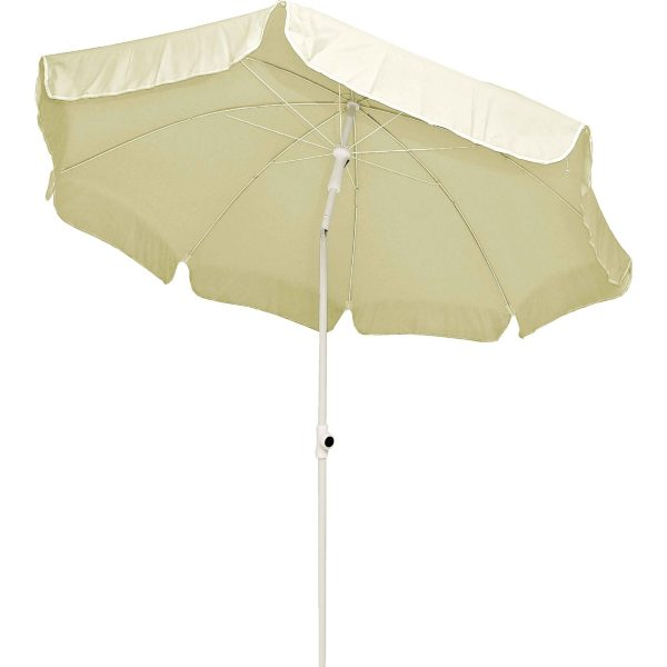 Ομπρέλα θαλάσσης 2μ. σε δύο χρώματα