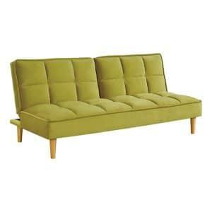 Καναπές-κρεβάτι Puzzle κίτρινος