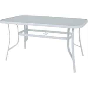 Τραπέζι κήπου Steel 150 σε δύο χρώματα