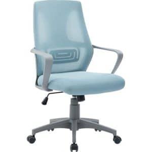 Καρέκλα γραφείου γκρι-μπλε