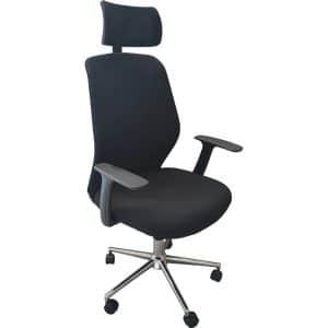 Καρέκλα γραφείου Reval μαύρη