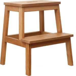 Stool step in two shades